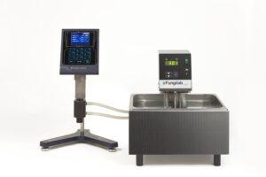 Termostatazione viscosimetro rotazionale con bagno termostatico