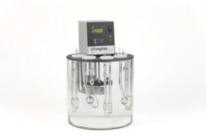 bagno termostatico per misure con viscosimetri